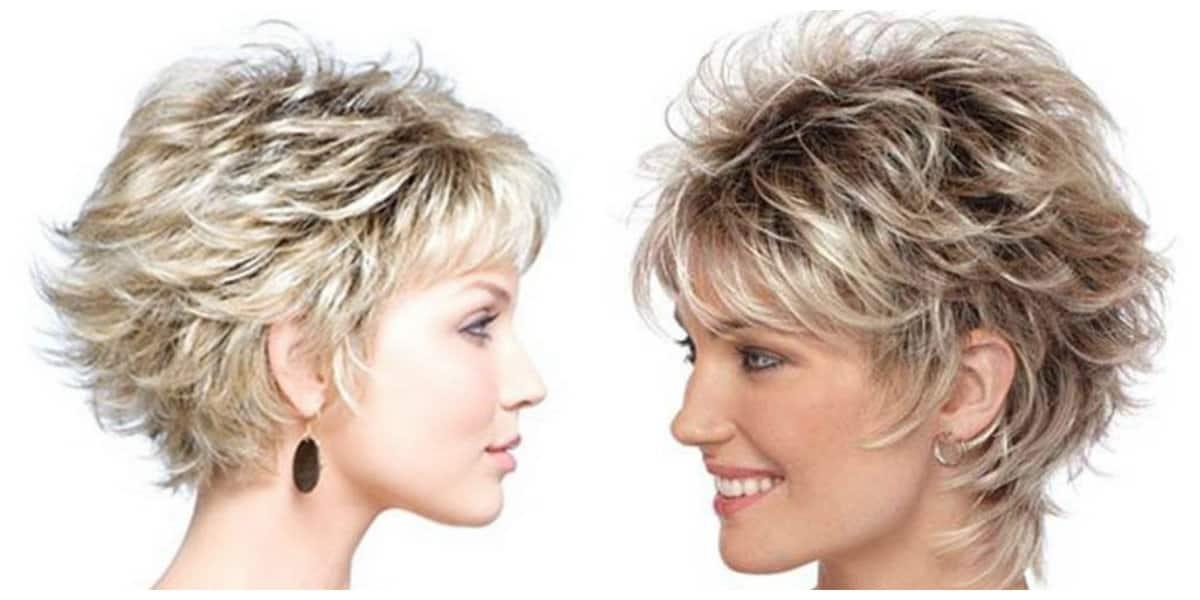 Peinados de pelo corto- coor de pelo ligero y claro en cuanto a pelo corto
