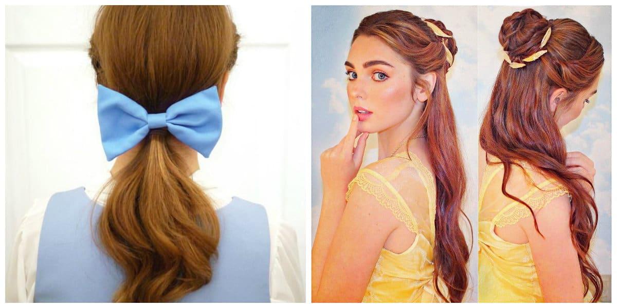 Peinados de princesas- estilos sacados desde los heroinas de Disney