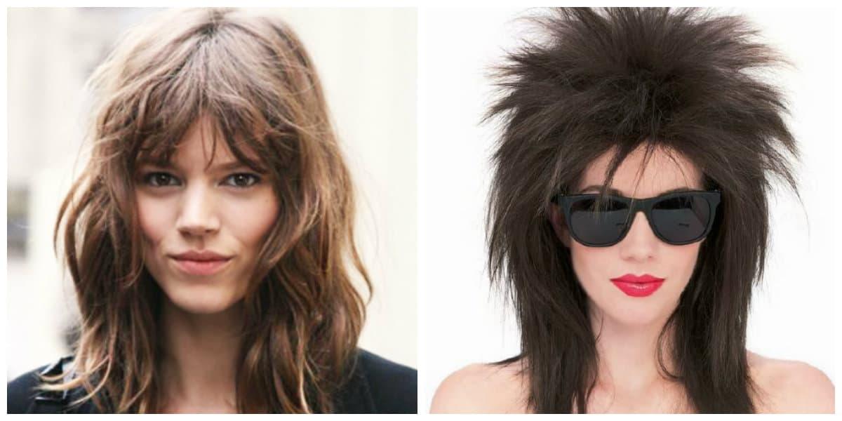 Diferentes versiones peinados de rock Fotos de tutoriales de color de pelo - Peinados de rock: Nuevas ideas para cortes de pelo ...