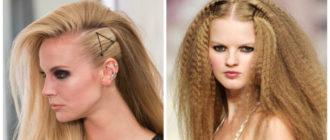 Peinados de rock- trenzas y rastas estan muy de moda en actualidad