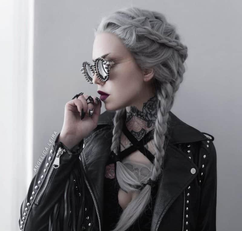 Banging peinados de rock Imagen de tutoriales de color de pelo - Peinados de rock: Nuevas ideas para cortes de pelo ...