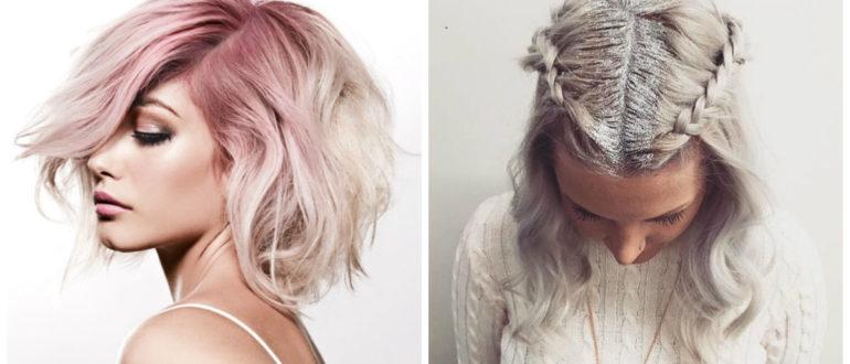 Peinados fáciles 2018- simples y elegantes ideas para la coloracion de pelos