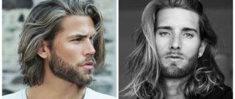 Peinados largos para hombres- cortes de pelo largo muy de moda