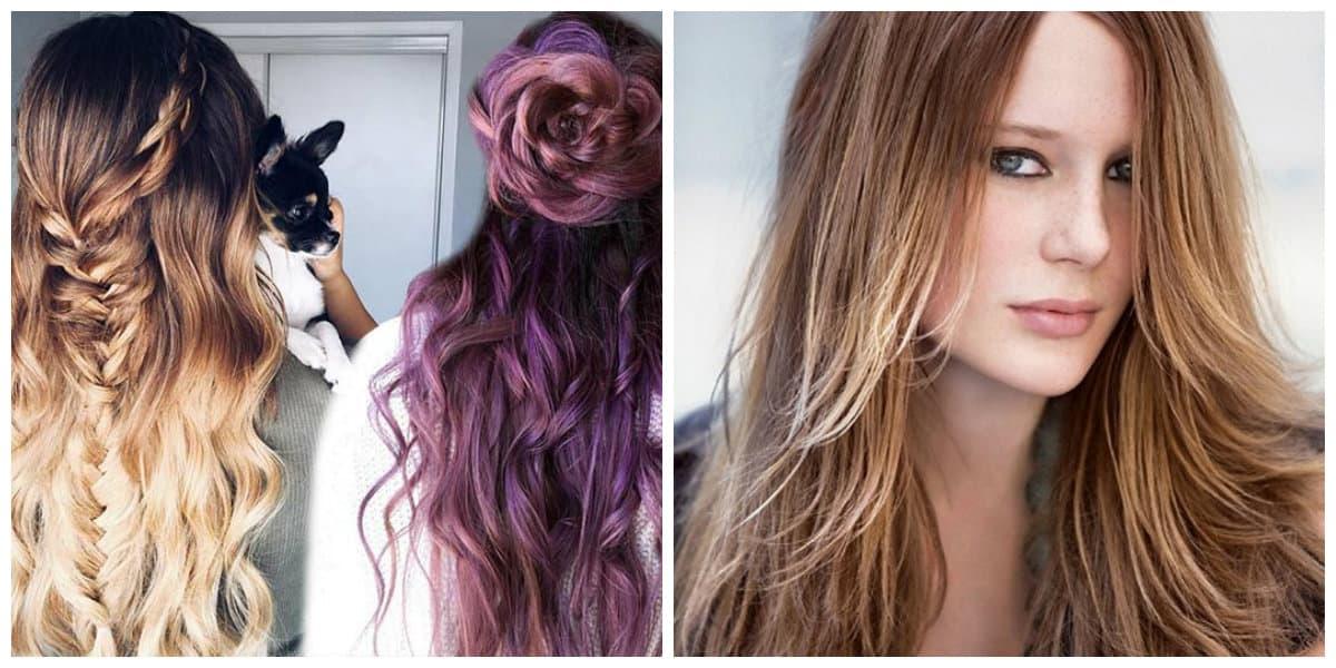 Peinados para cabello largo- diferencias texturas de moda