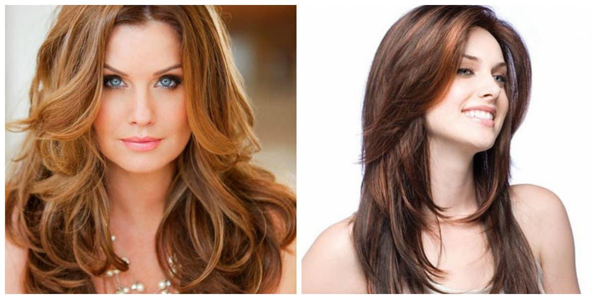 Peinados para cabello largo- diferencias entre gamas de color