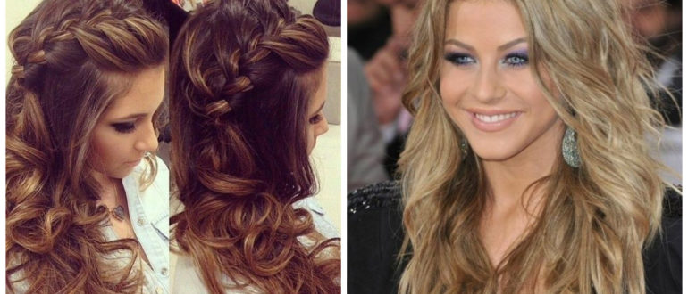 Peinados para cabello largo- diferentes medios para mujer moderna