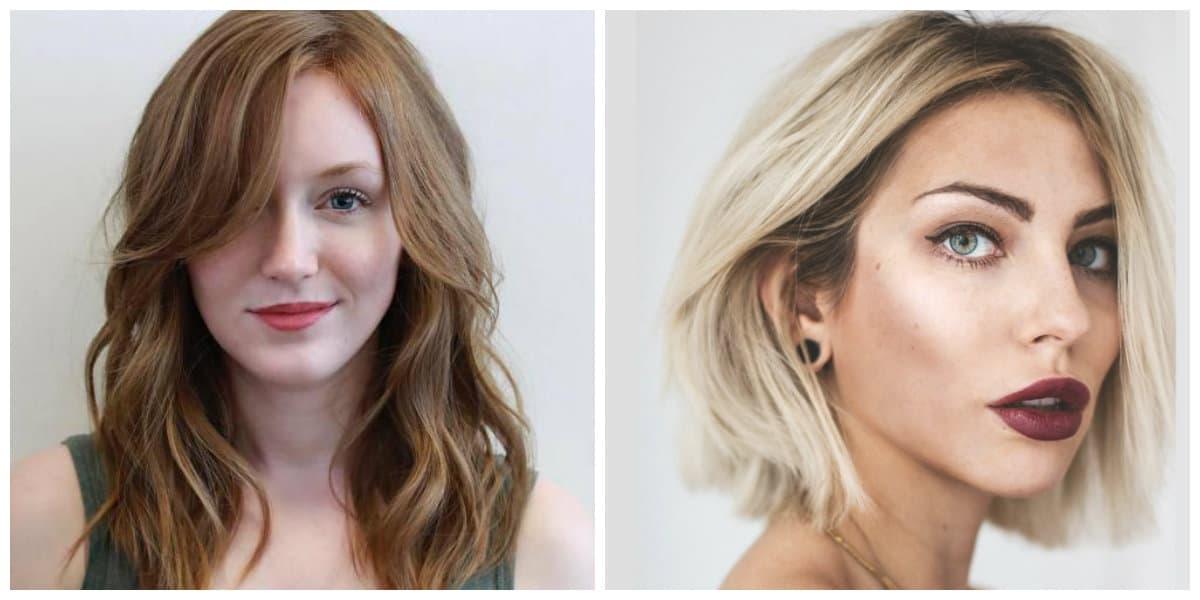 Peinados para cara ovalada- tendencias principales en uso