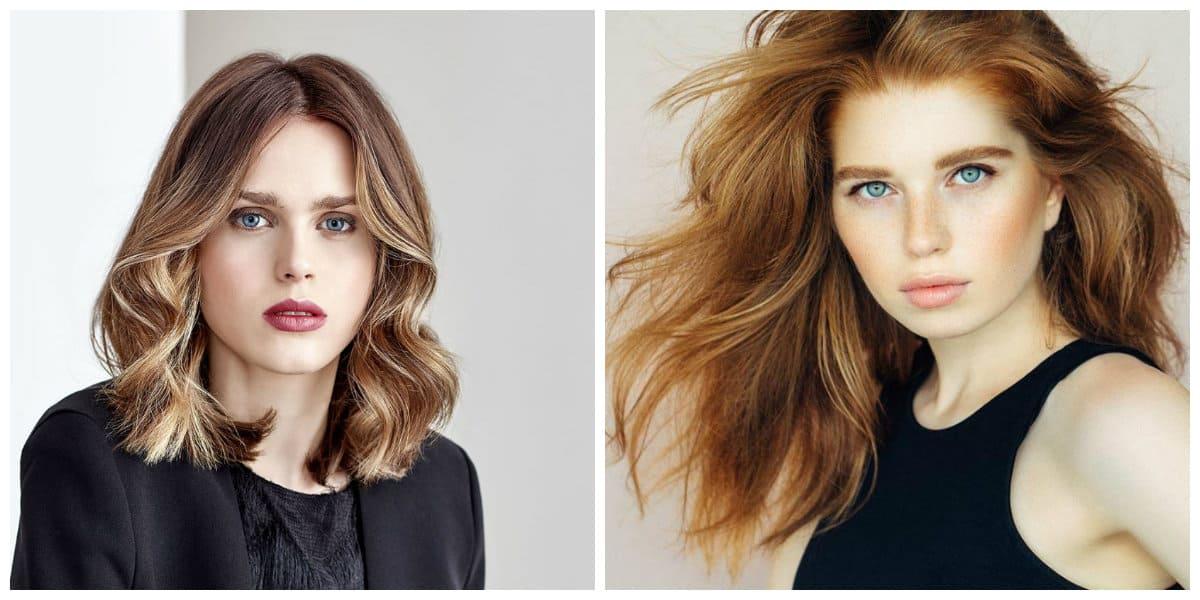 Peinados para mujer 2020- diferentes tonalidades de pelos elegantes