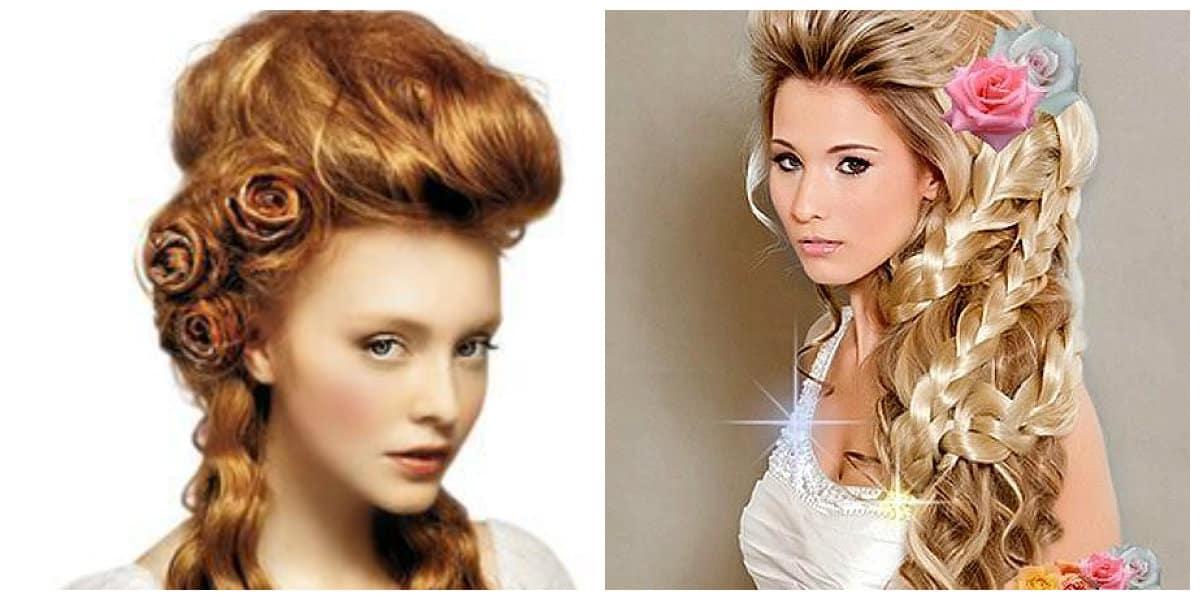 Peinados para novia 2020- antiguos estilos de cabello vuelven