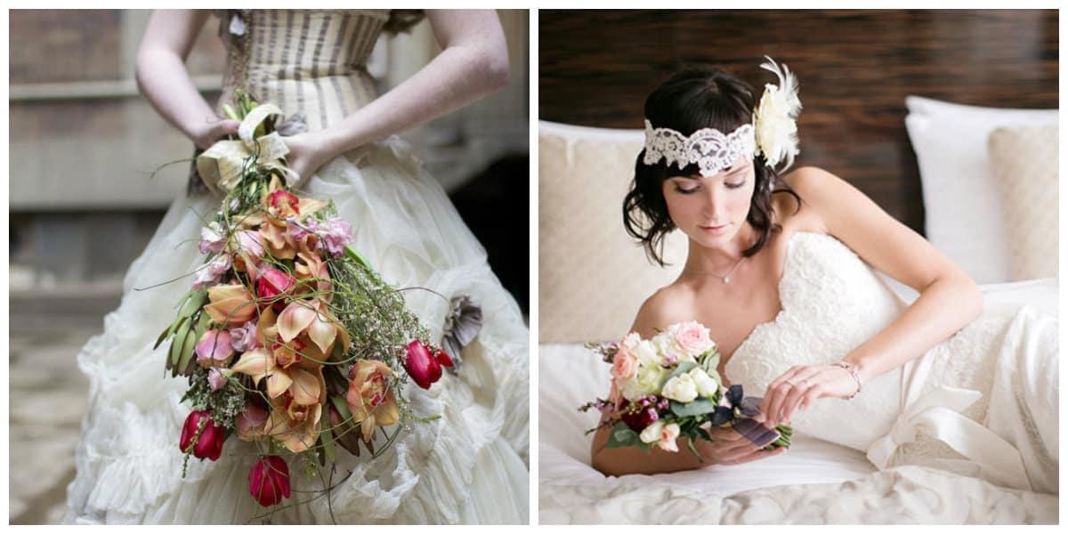 Peinados para novia 2020- accesorios para una boda en estilo steampuck