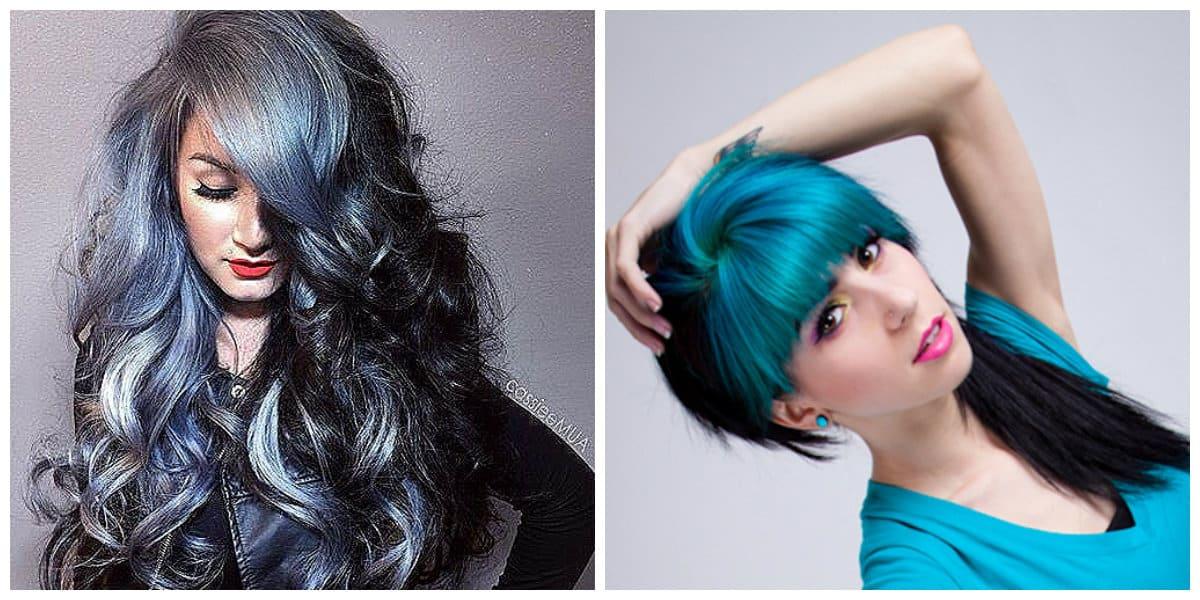 Pelo de dos colores- representamos todas las tendecias principales