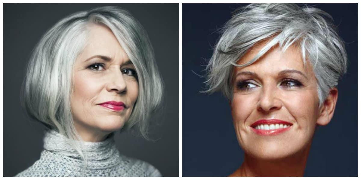 Pelo Gris Los Mejores Peinados De Cabello Gris Para Las Mujeres Modernas