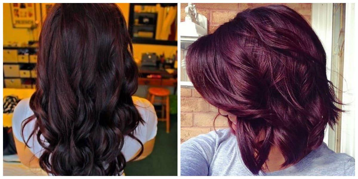 Pelo negro cereza- coloracion de pelo para las chicas y las mujeres