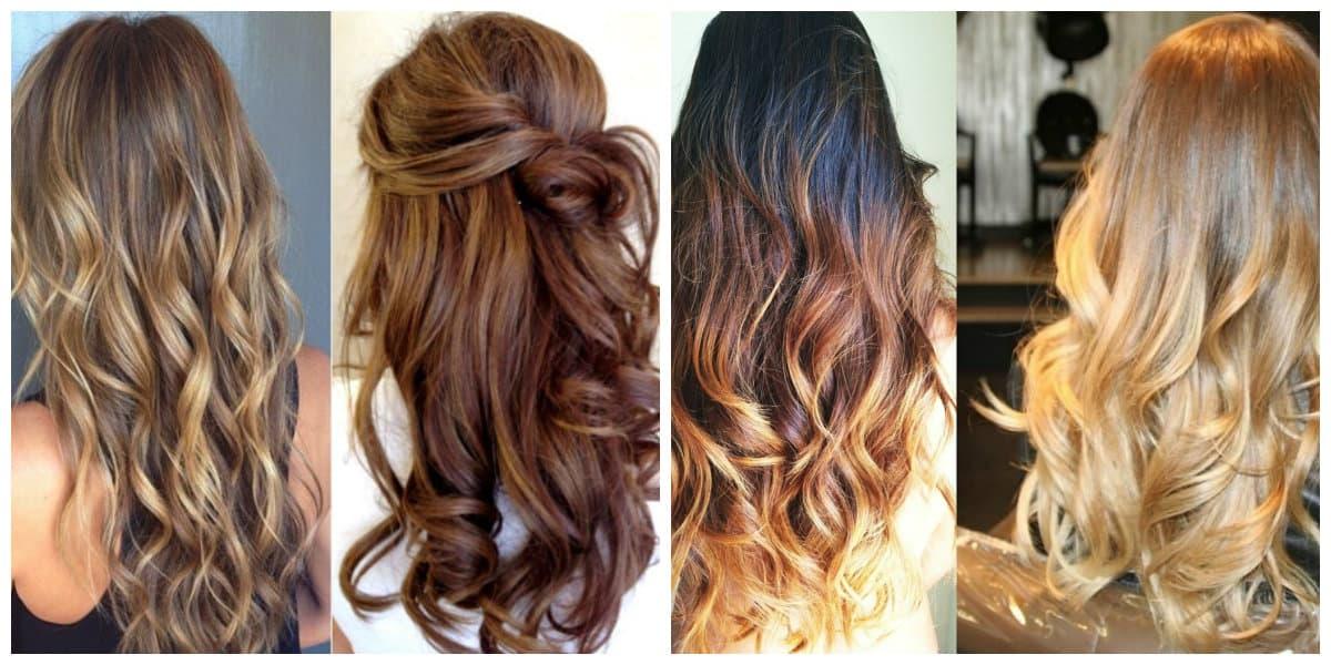 Tendencias color cabello 2018- tonalidad de colores muy de moda