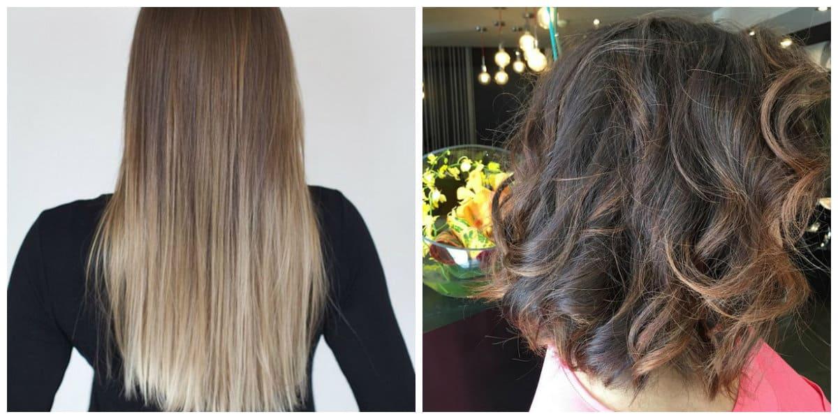 Tendencias color cabello 2018- shatush para pelo corto y largo