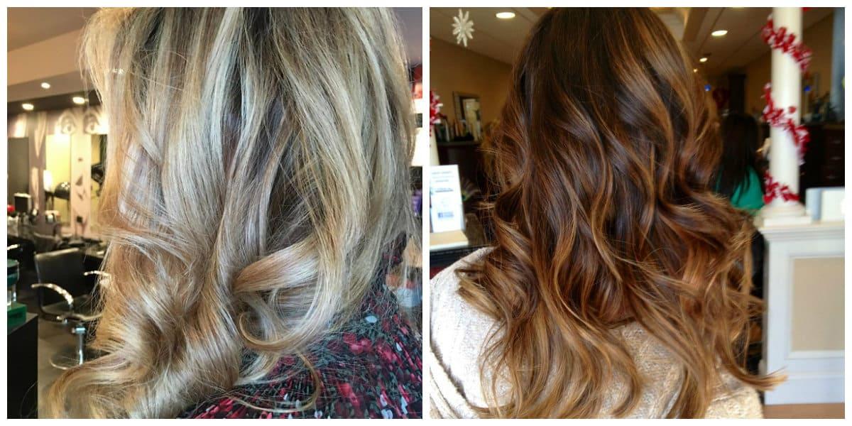 Tendencias color cabello 2018- coloracion de pelo en estilo shatush
