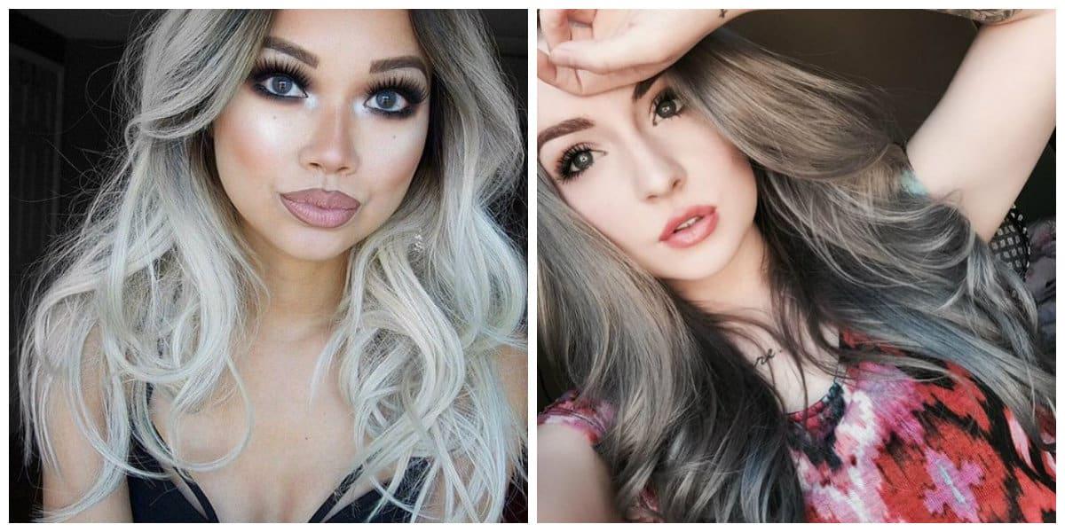 Tendencias de color cabello 2018- chicas modernas en moda