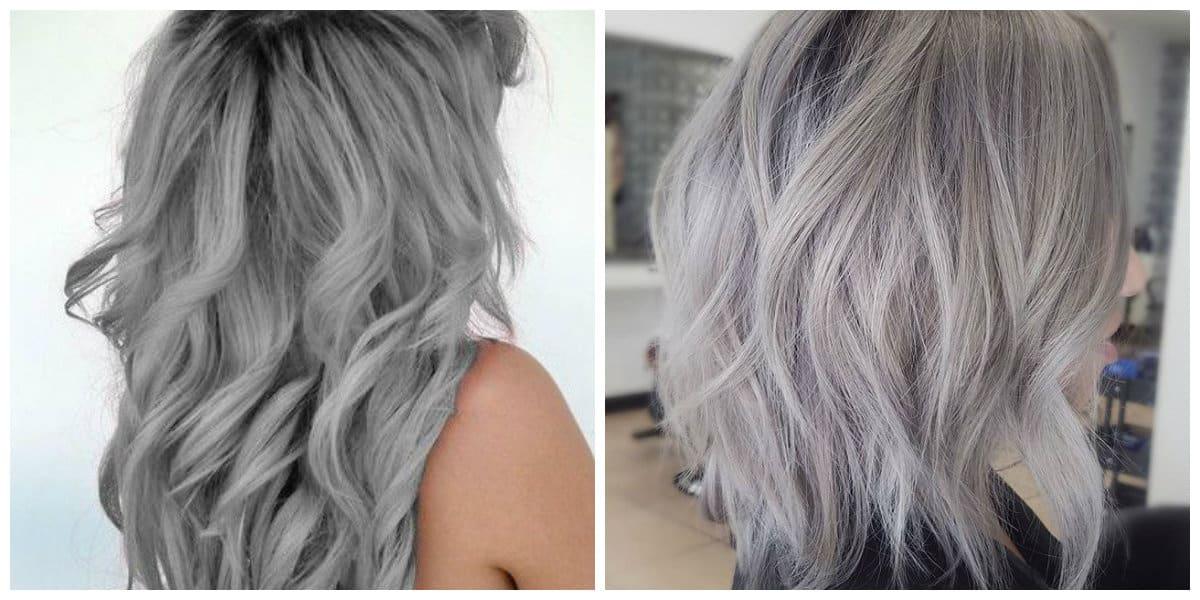 Tendencias de color cabello 2018- color de pelo de abuelita
