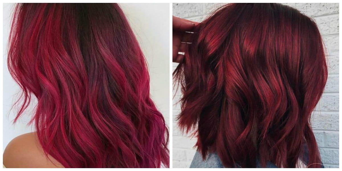 Tonos de cabello rojo- coloracion moderna para las chicas