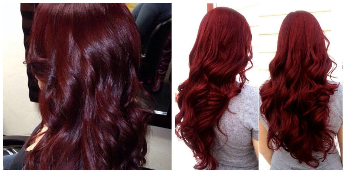 Tonos de cabello rojo- color rojo que da una elegancia imensa a los pelos