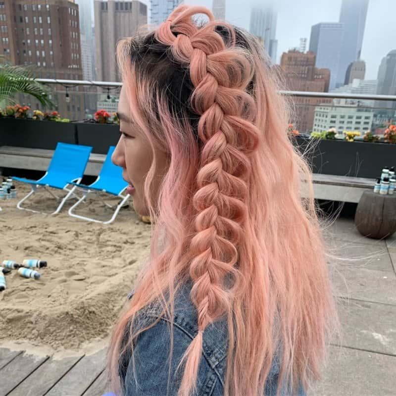 Peinados-con-trenzas-2020:-Las-inspiraciones-más-modernos-y-fáciles