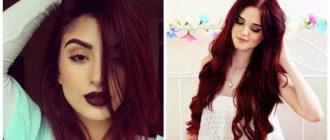 Color borgoña para cabello- todas las tendencias principales