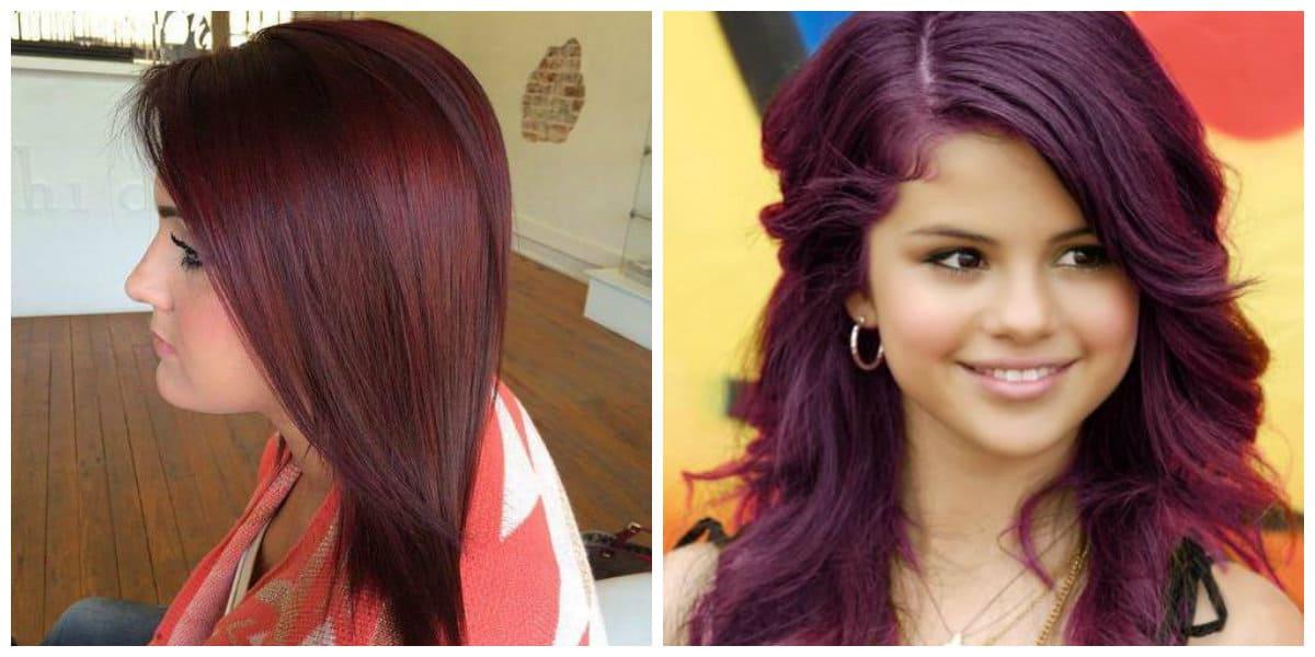 Color borgoña para cabello- mejores ideas de este color