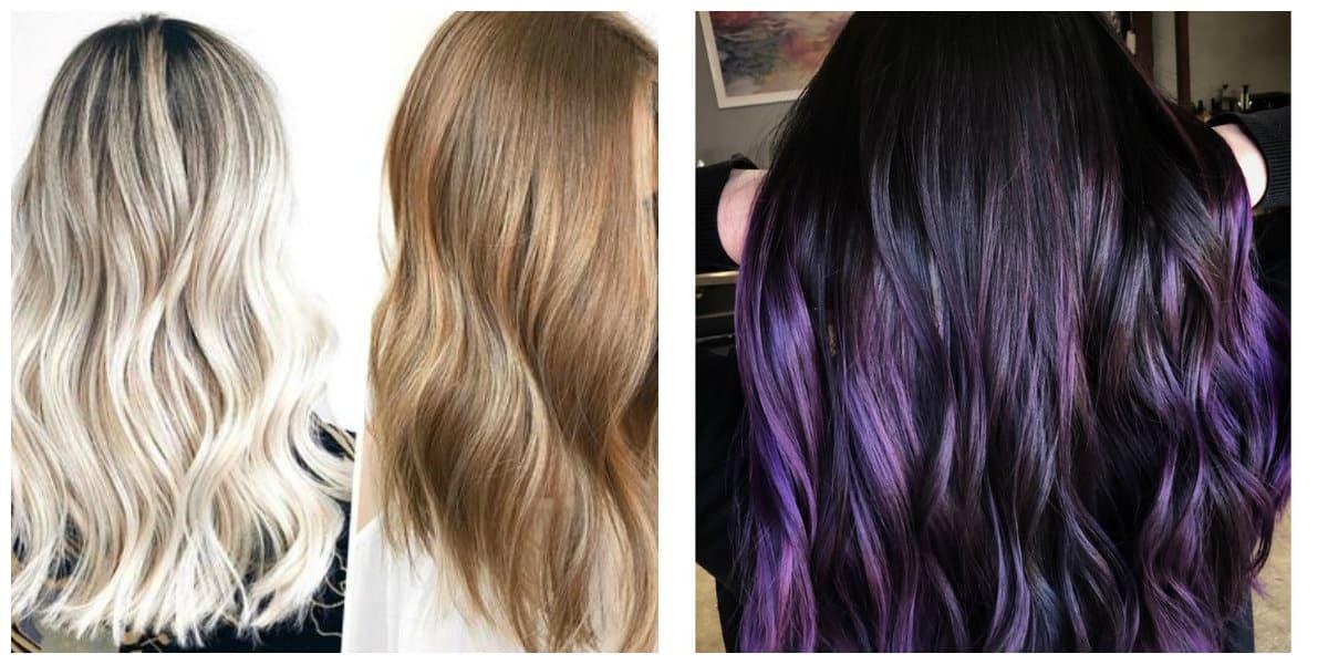 Color de cabello 2020- una diversidad de colores de moda