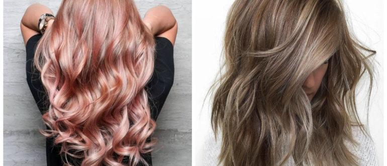 Color de cabello 2018- pelo de colores en la tendencia principal