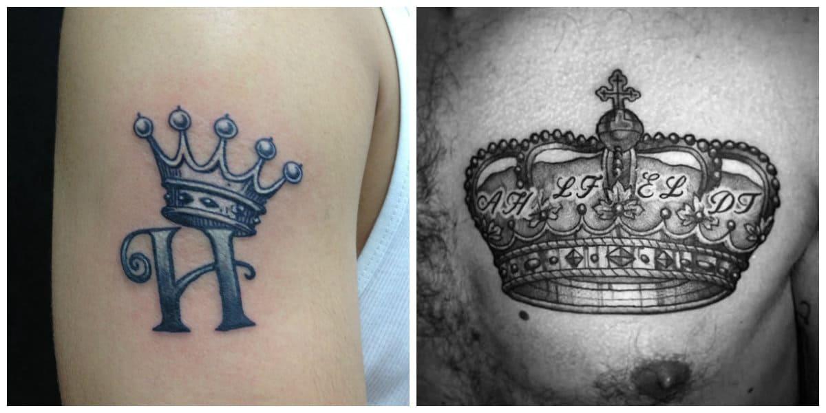 Coronas tatuajes - el mejor simbolo de tu sinngularidad