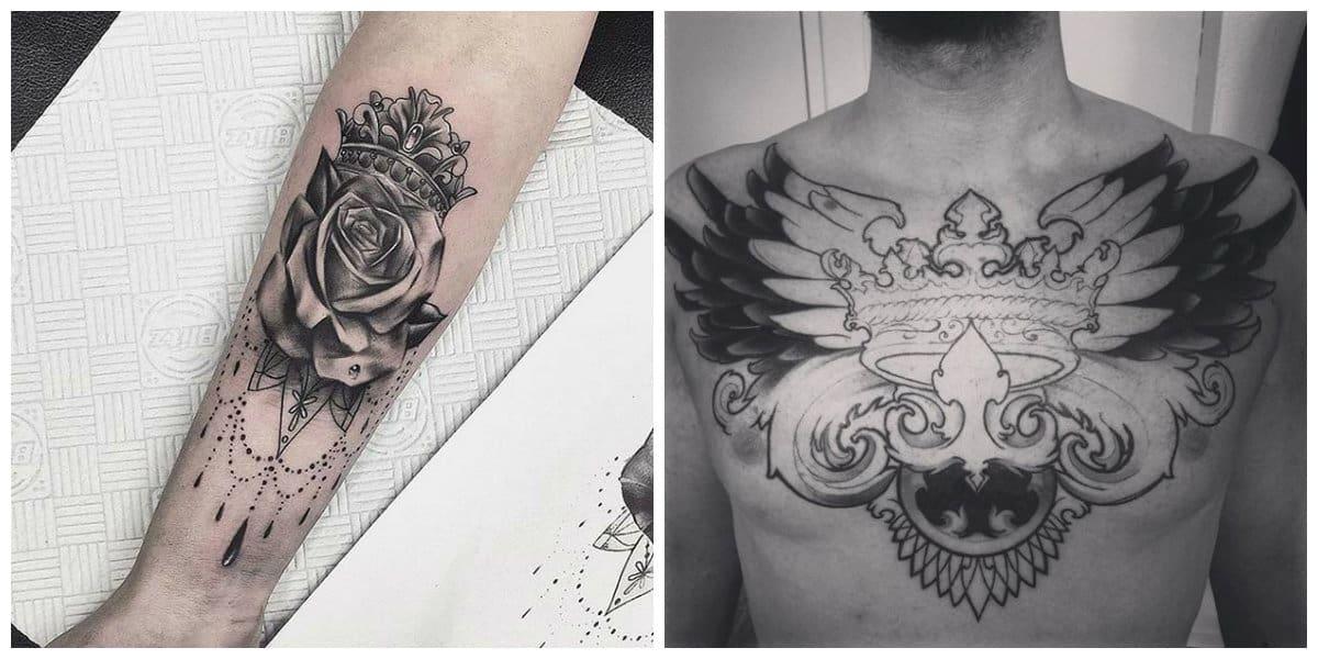 Coronas tatuajes - modelos pequenos asi como los grandes