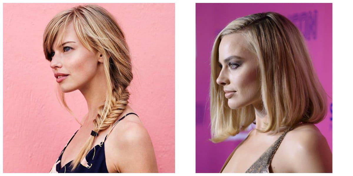 Cortes de cabello largo 2018- trenzas y pelo mediano de moda