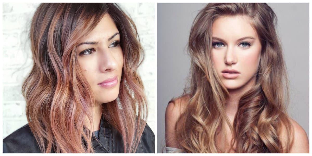 Cortes de cabello largo 2020- suaves tonos de color de pelo