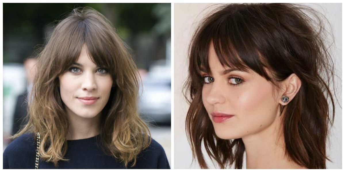 Cortes de cabello largo 2020- flequillos de moda para chicas