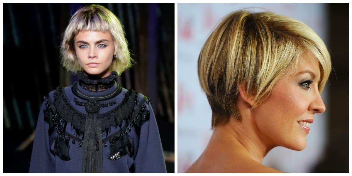 Cortes de pelo corto 2020- cabello de peinados cortos de moda