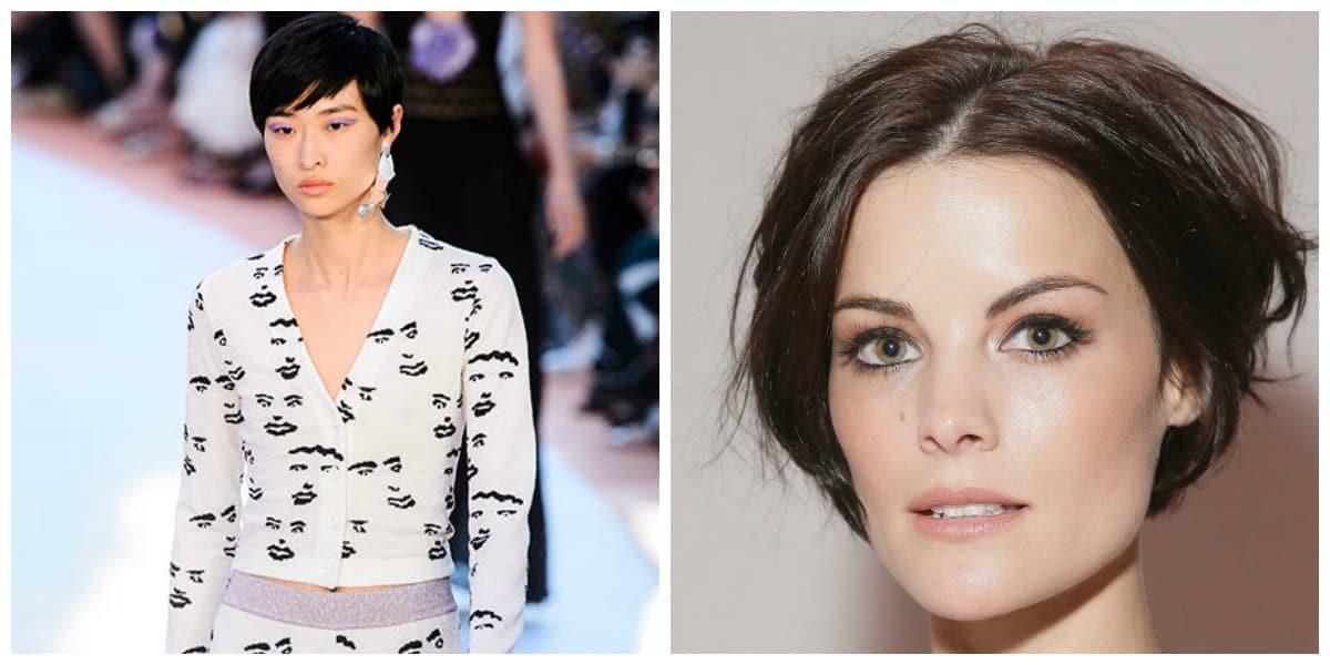 Cortes de pelo corto 2020- ideas interesantes de peinados modernos