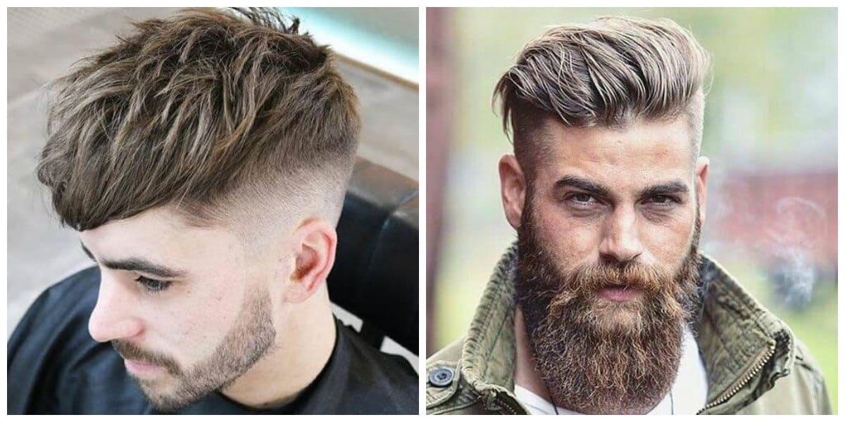 Cortes de pelo hombre 2020- pelo recortado combinado con barba