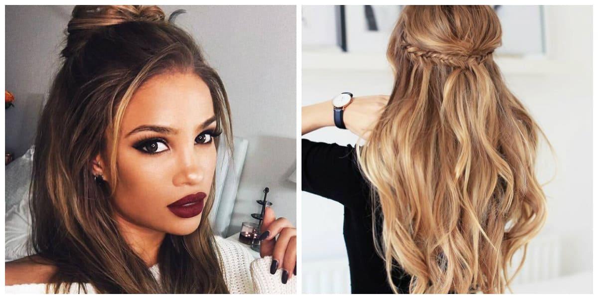 Cortes de pelo largo 2020- chicas muy modernas con peinados de moda