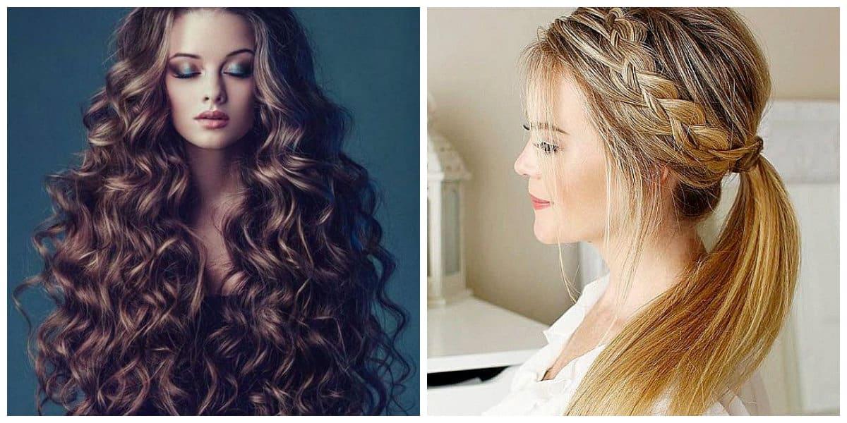 Cortes de pelo largo 2020- cabello ondualdo muy rico