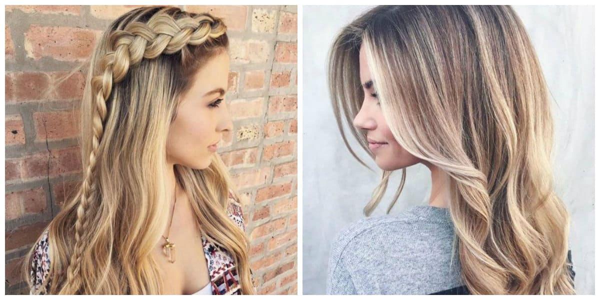 Cortes de pelo largo 2020- trenzas de cabello argo y suelto