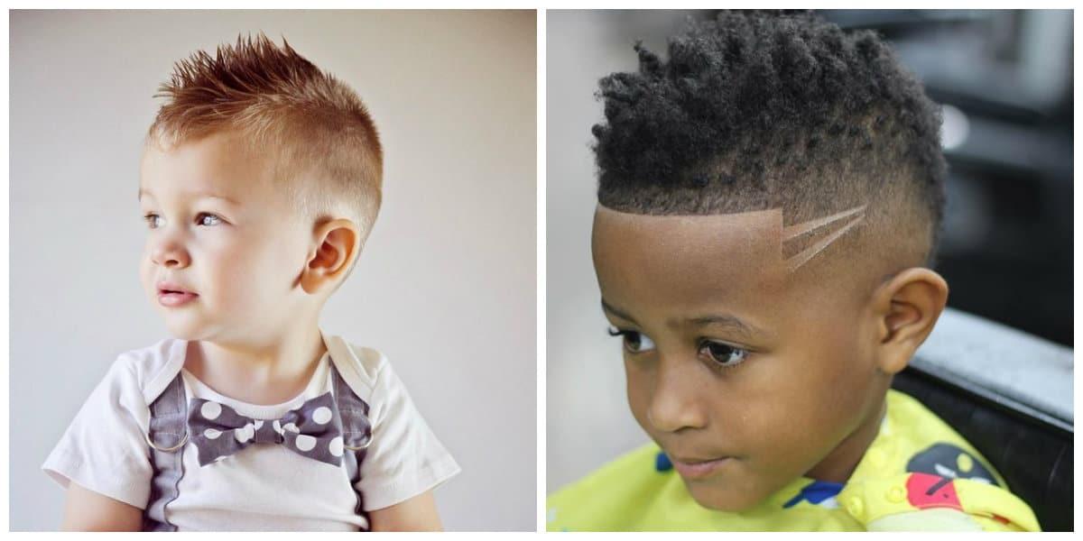 Cortes de pelo para chicos 2020- tatuaje de pelo para chicos