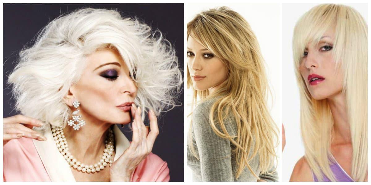 Cortes de pelo para mujer 2018- combinacion de algunos peinados
