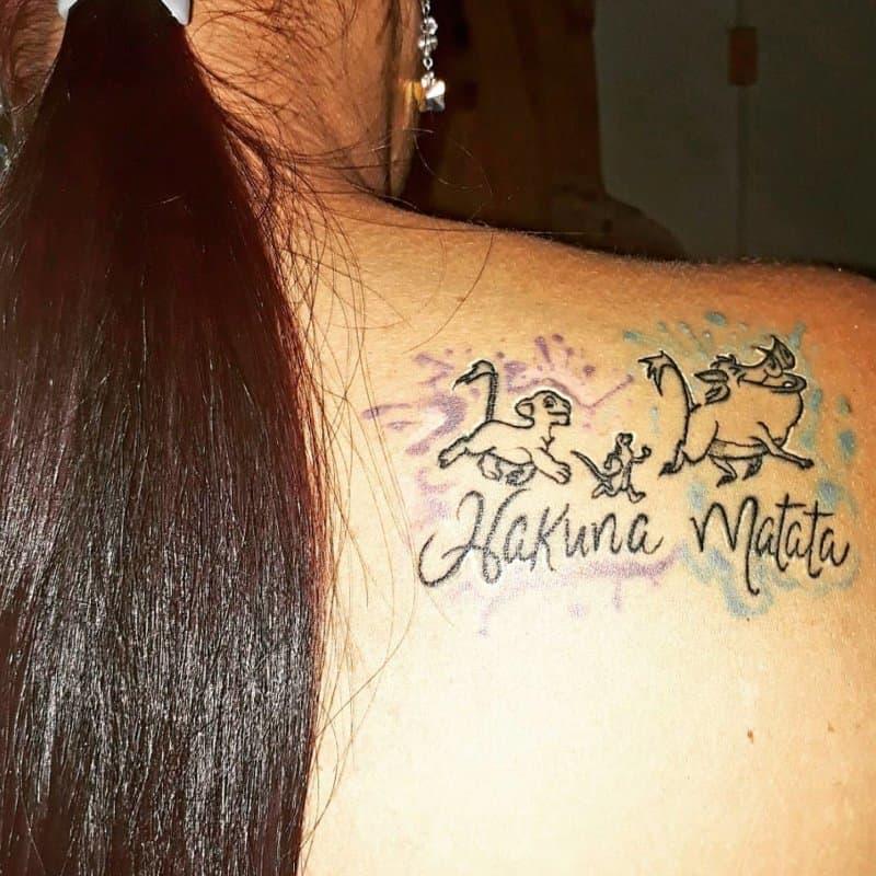 Hakuna Matata Tatuaje: Significado De Este Símbolo Nuevo En Los Tatuajes Modernas