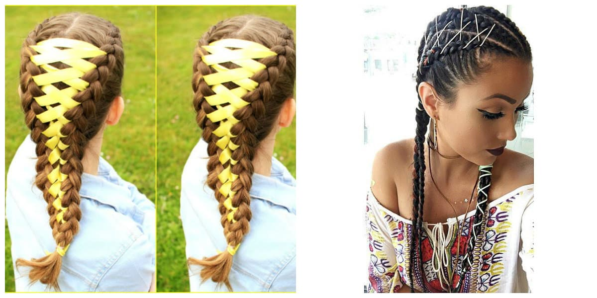 Peinados con trenzas- todas las tendencias representadas