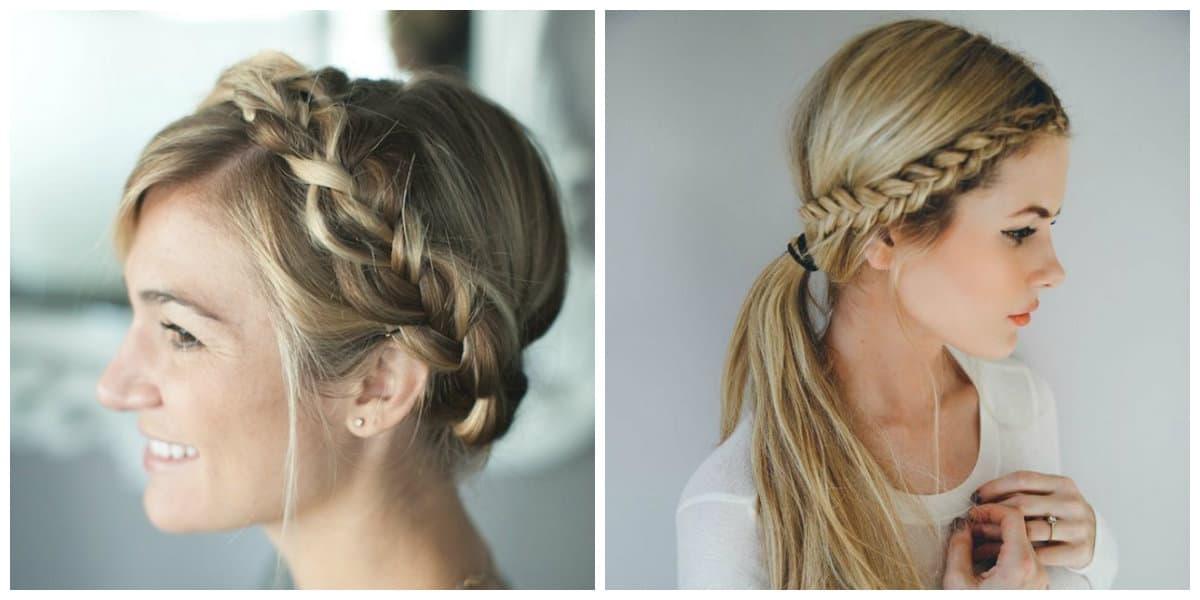 Peinados con trenzas 2018- modos faciles de trenzar el pelo