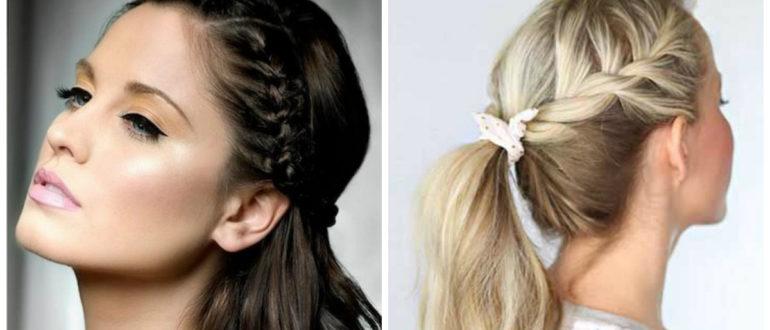 Peinados con trenzas 2018- tendencias principales para las chicas de moda
