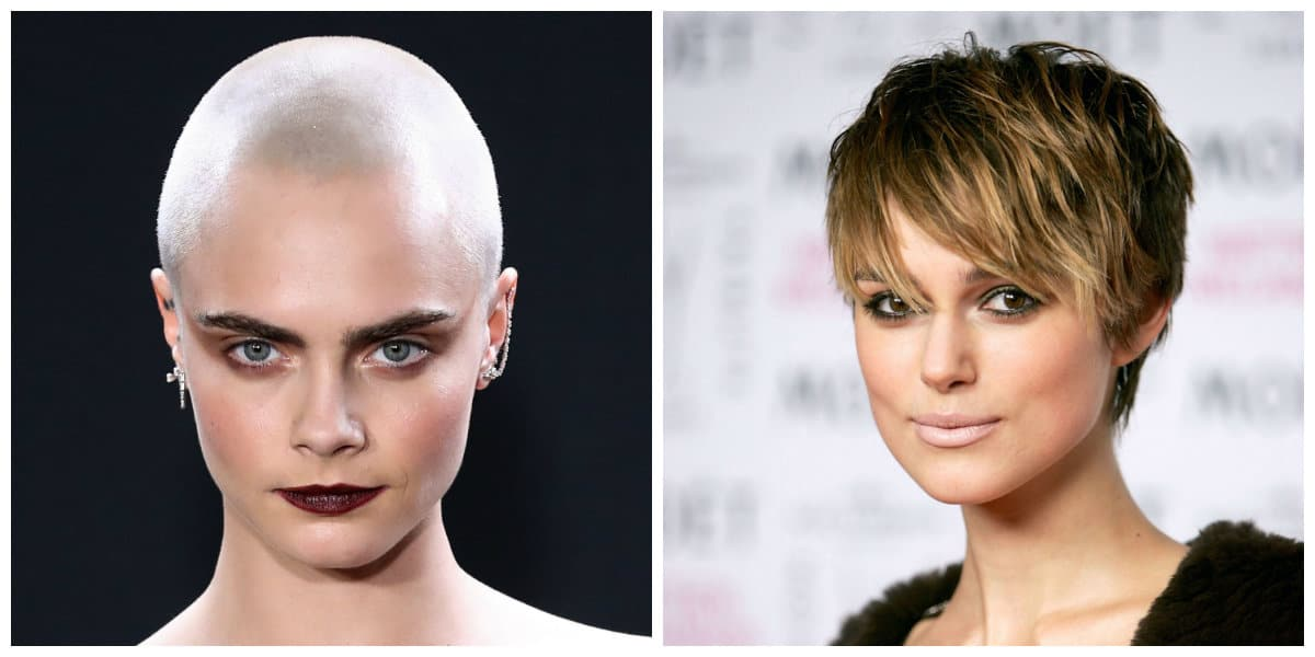 Peinados cortos 2020- variedades de cabello liso y corto
