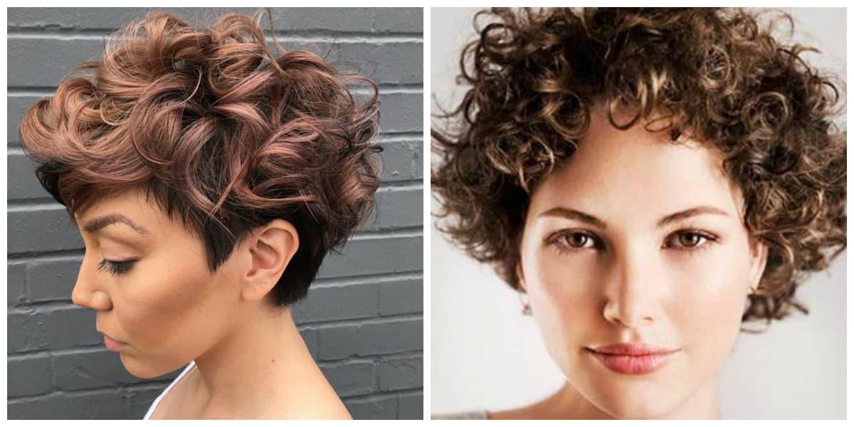 Peinados cortos 2020- cabello croto rizado naturalmente