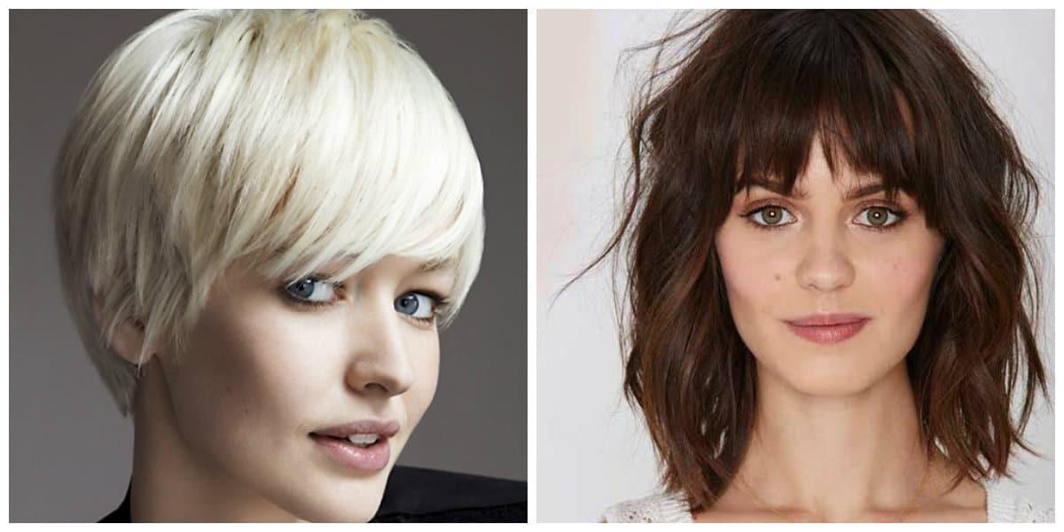 Peinados cortos 2020- flequillos rectos muy perfectos y hermosos