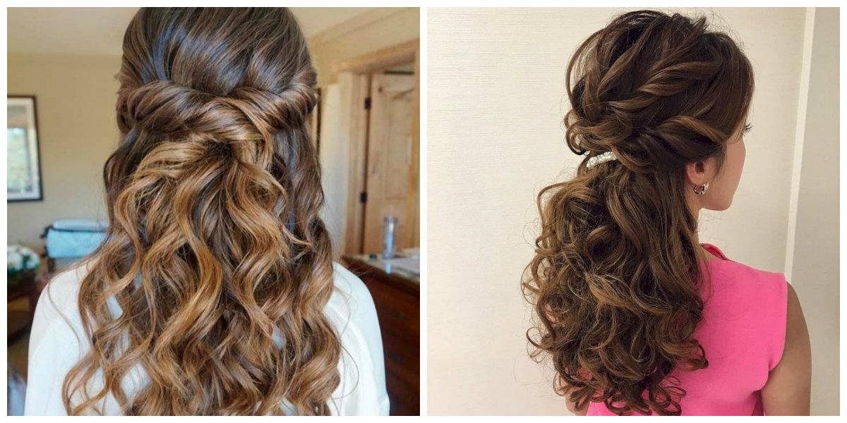 Minimalista peinados de damas de honor Fotos de consejos de color de pelo - Peinados Damas De Honor: Inspiración, Corrientes, Consejos ...
